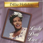 CD Lady day Live - cover