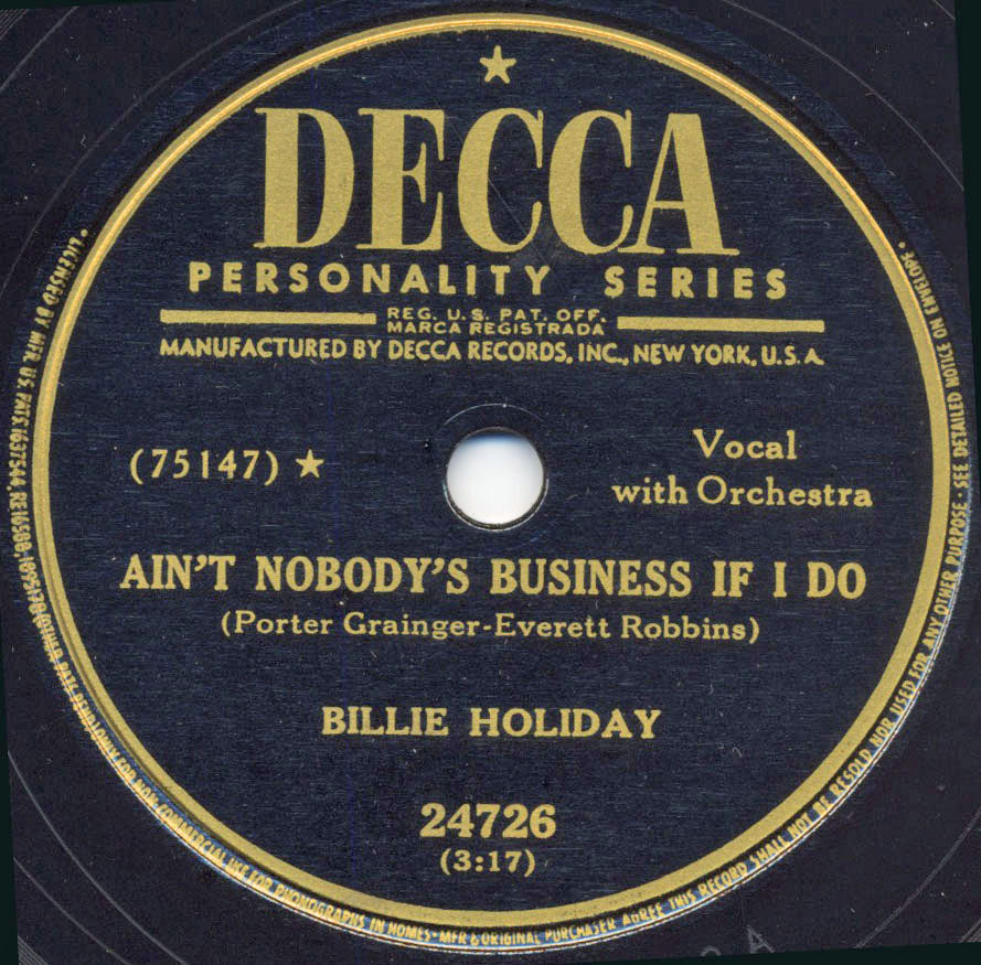 1949 Sessions Billie Holiday Songs