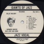 1975 Giants of Jazz LP-1001A
