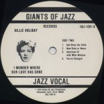 1975 Giants of Jazz LP-1001B
